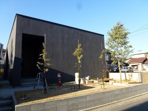 長田邸竣工写真