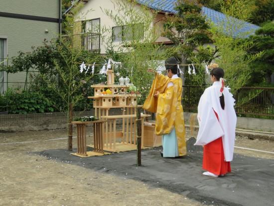 池田の家(中島邸)地鎮祭