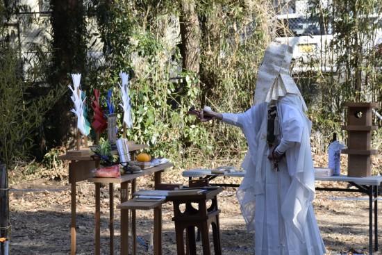 藤南麓の家地鎮祭