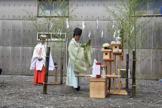 太田邸地鎮祭