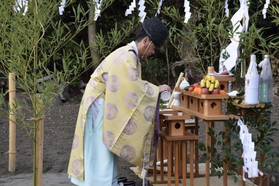 中新田の家(村松邸)地鎮祭