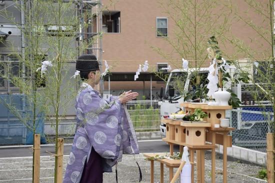 東町の家(増田邸)地鎮祭