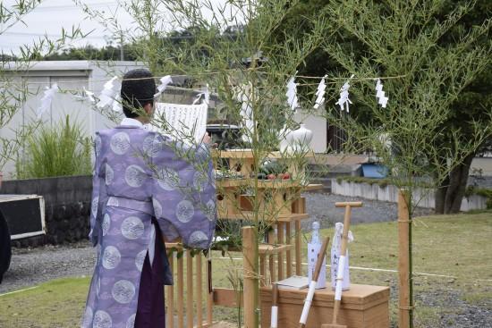 和田の家(酒井邸)地鎮祭