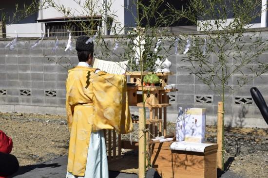 和田邸地鎮祭