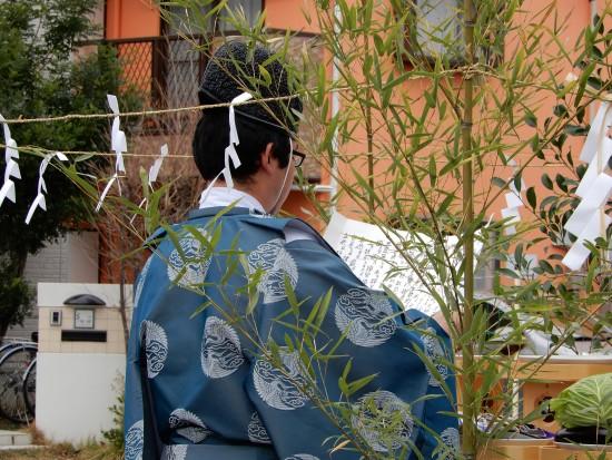 大栄町の家(大塚邸)地鎮祭