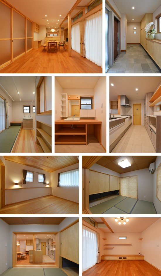国吉田の家(松永邸)竣工写真